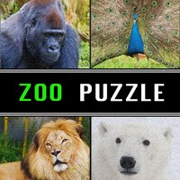 Zoo Animals Jigsaw Puzzle Spectacular FREE