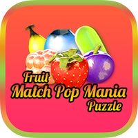 Fruit Match Pop Mania Puzzle : Funny Free Game