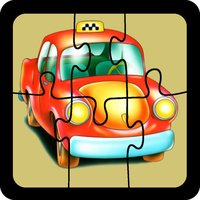 Jigsaw puzzles for baby. Cars