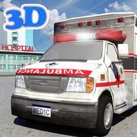 Ambulance Driver 3D Simulator Parking