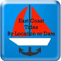 East Coast Tides by Date-Locat