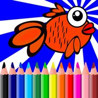 Fish Coloring BookPages Free For Kids Toddler