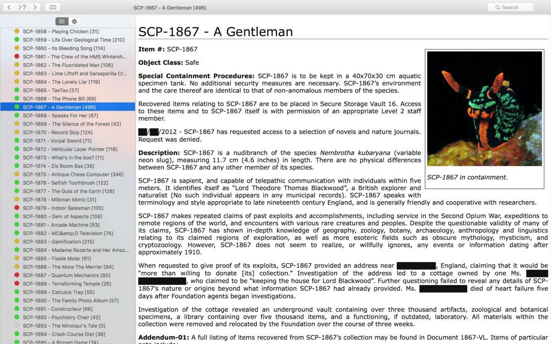 nn5n Foundation - branch of SCP Foundation, Offline