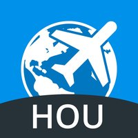 Houston Travel Guide with Offline Street Map