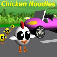 Chicken Noodles cross the road