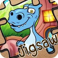 Dino Puzzle Jigsaw Games - Dinosaur Puzzles