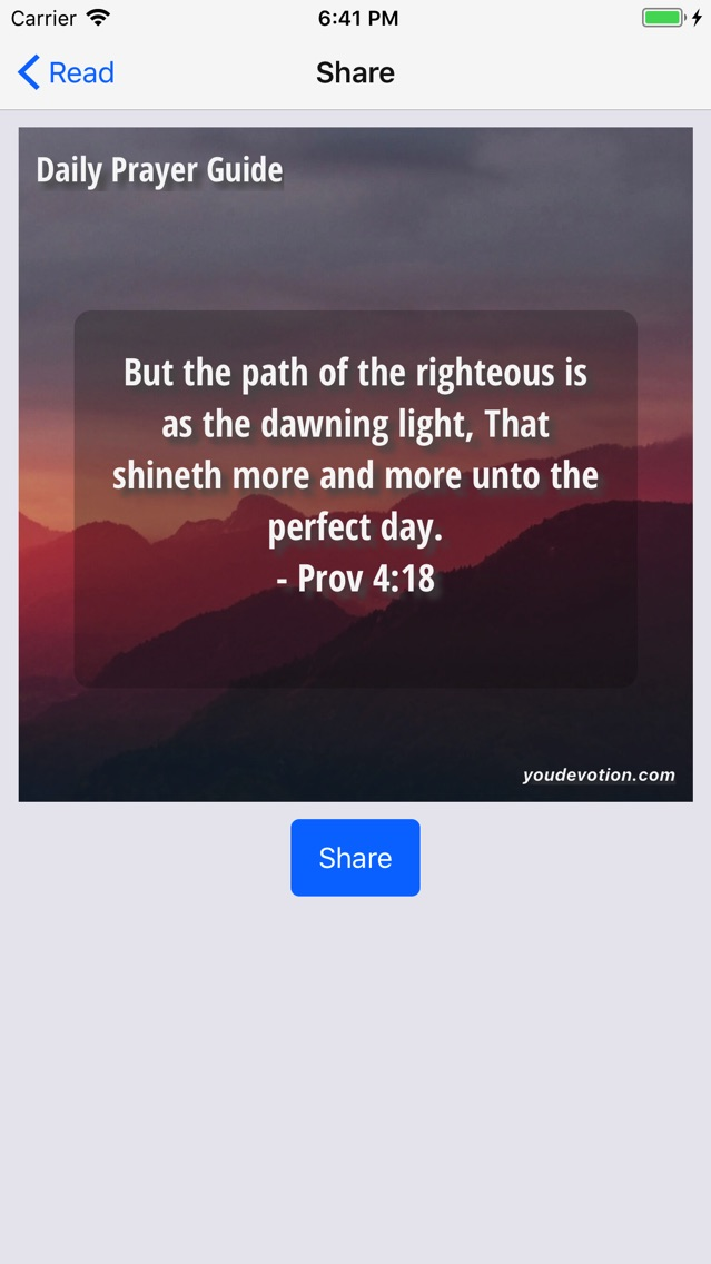 Daily Prayer Guide - Lite App for iPhone - Free Download