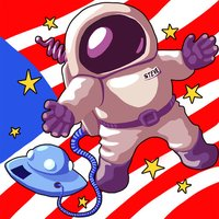 My Outer Space Puzzle - Explorer Puzzles for kids and toddlers