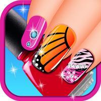 Nail Salon For Girls - Princess Nail Art And Color