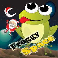 froggy jump help santa space