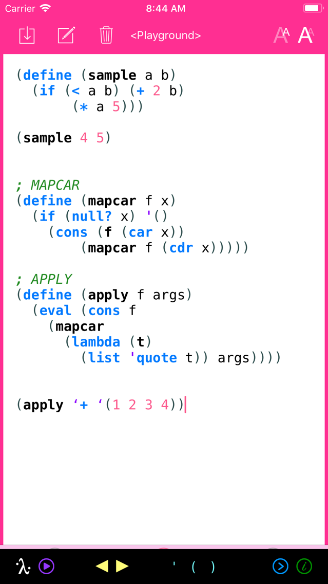 My Lisp App for iPhone - Free Download My Lisp for iPhone & iPad at