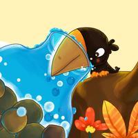BevaBook HD - 乌鸦喝水