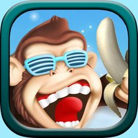 Banana Island - a timid monkey rush collect wealth to defend kingdom