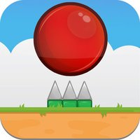 Flappy Red Ball - Tiny Flying