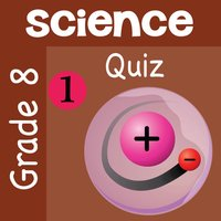 8th Grade Science Quiz # 1 : Practice Worksheets for home use and in school classrooms