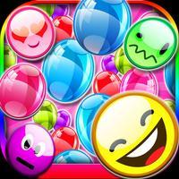 A Addictive Emoji Bubble Pop Emoticon Explosion Burst Popper Fun
