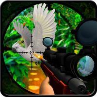 Jungle bird hunter 3d - free shooting game