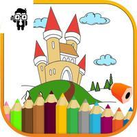 Castle Kids Coloring Book