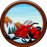 Snowmobile Ice Rage - A Winter Fast Driving Craze