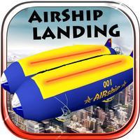 Airship Landing - Free Air plane Simulator Game