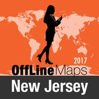 New Jersey Offline Map and Travel Trip Guide