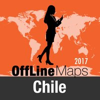 Chile Offline Map and Travel Trip Guide