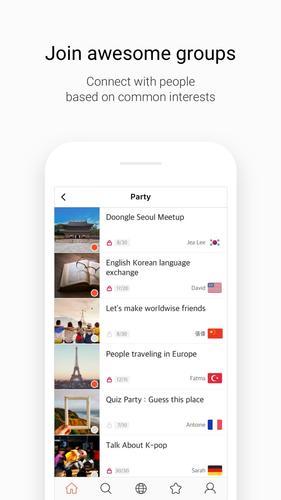 Doongle - 1Mil Global Penpal App for iPhone - Free Download