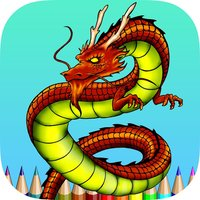 Coloring Book Dragon HD