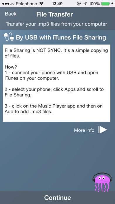 Jellyfish Music Player App for iPhone - Free Download Jellyfish