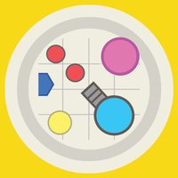 Colorful dot circle flip challenge 2