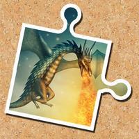 dinosaur jigsaw puzzle easy cartoon puzzles online