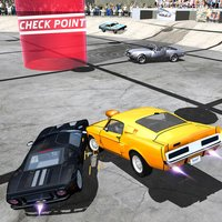San Andreas Stadium Car Stunt