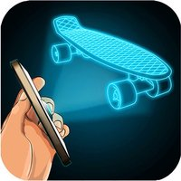 Hologram Fingerboard Simulator