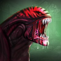 Evolve Alien Hybrid Monster