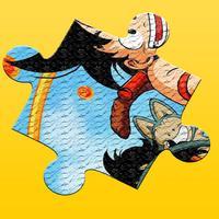 Dragon Jigsaw Game Free For Kid and Kindergarten - Cartoon Super Hero Puzzle Box