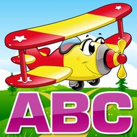 Learn English Alphabets ABC and 123 Number Games with Planes | Education for Kindergarten
