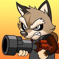 Raccoon Soldier