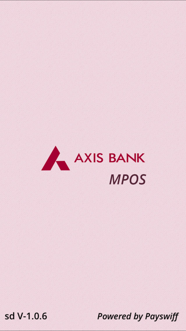 Axis MPOS App for iPhone - Free Download Axis MPOS for