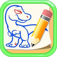 How to Draw Dinosaurs - Dino Drawing and Coloring