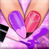 Nail Spa Salon Girls Games: Nail Makeover and Manicure Salon for Fashion Girl.s