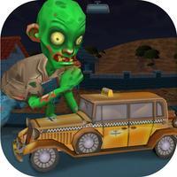 Spooky Zombie Town Car Race