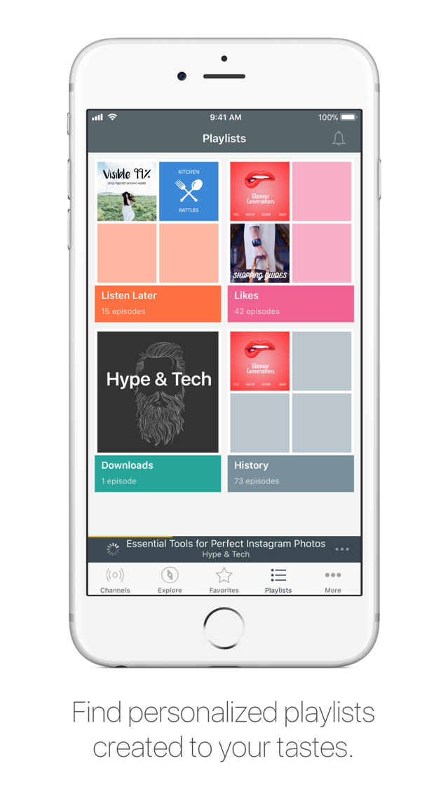 Spreaker Podcast Radio App for iPhone - Free Download Spreaker