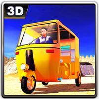 Rickshaw Pick & Drop Driving