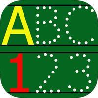 ABC123 English Alphabet Write