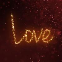 Animated Love Sticker