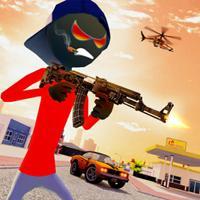 Stickman Gangster City Crime