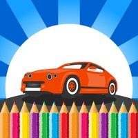 Kids Vehicle Coloring Book Drawing Painting Game