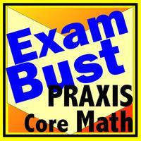 Praxis Core Math Prep Flashcards Exambusters