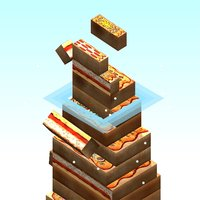 Pizza Stack Tower - Endless Pizza Block Stacking