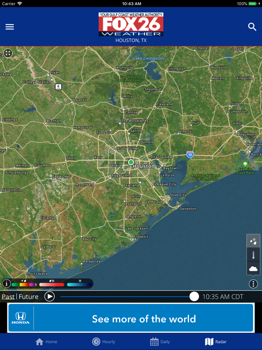 Fox 26 Houston Weather – Radar App for iPhone - Free